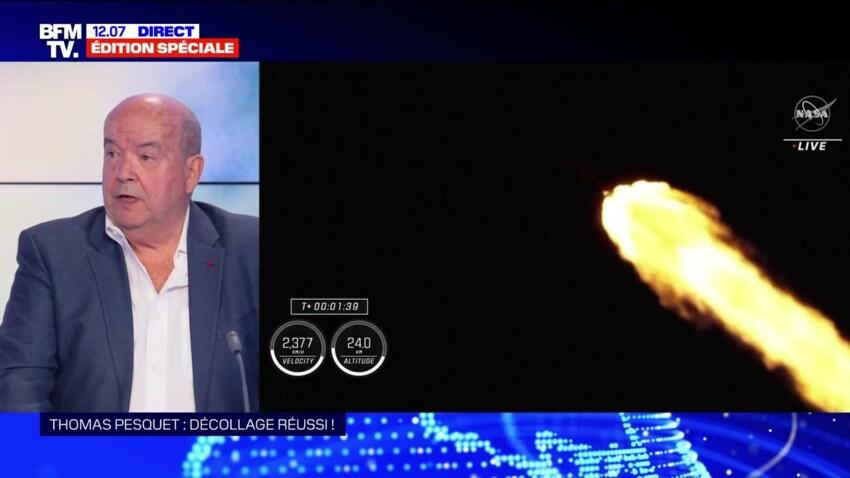 Thomas Pesquet dénigré en direct sur le plateau de BFMTV