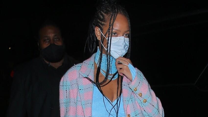 Rihanna sexy en body transparent, elle montre tout (oups !) - PHOTOS