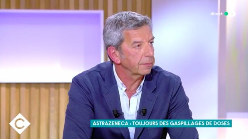 VIDEO - Michel Cymes dévoile ces effets secondaires ressentis par sa femme Nathalie, vaccinée à l'AstraZeneca