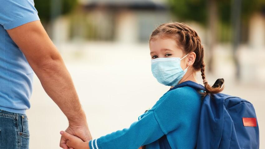 Covid-19 à l'école : que faire si mon enfant est cas contact ?