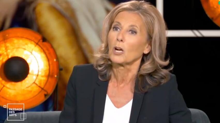 """""""Arrêtez, taisez vous !"""" : Claire Chazal s'agace contre Luc Ferry et ses propos insultants - VIDEO"""