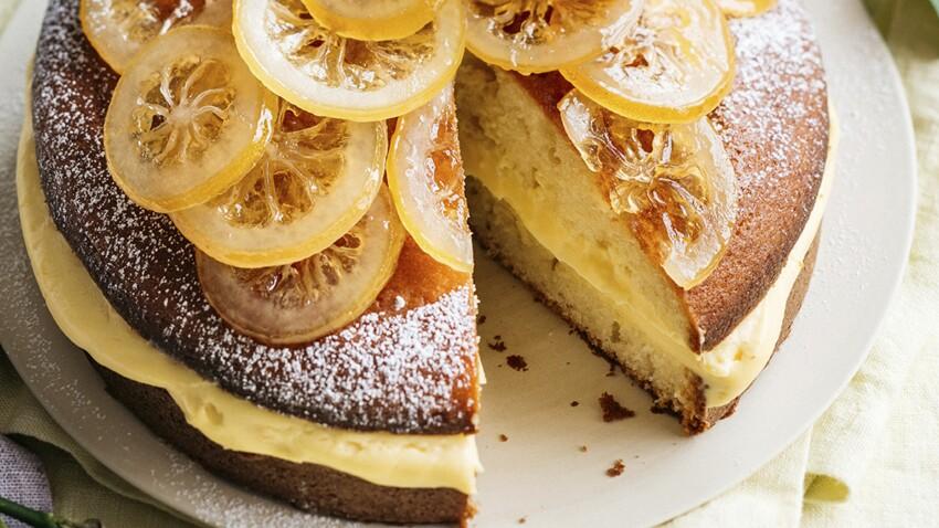 Gâteau tendre tout citron