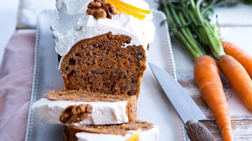 Carrot cake anti-gaspi : la recette du gâteau ultra-original avec des épluchures de carottes