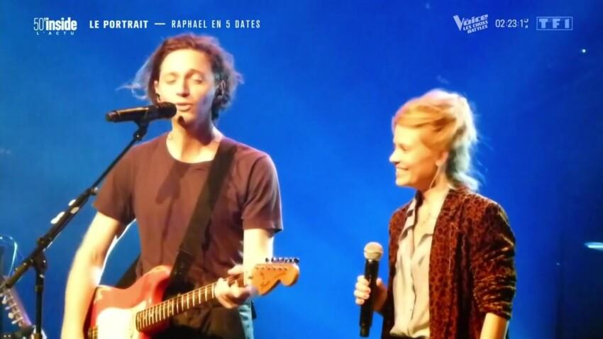 """Raphael revient sur sa première fois sur scène avec sa compagne Mélanie Thierry : """"Elle n'a aucune envie de devenir chanteuse"""""""