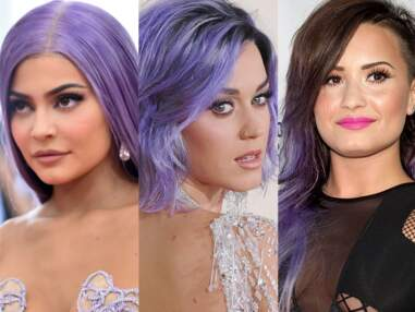 Cheveux violets : la nouvelle coloration tendance en 25 images