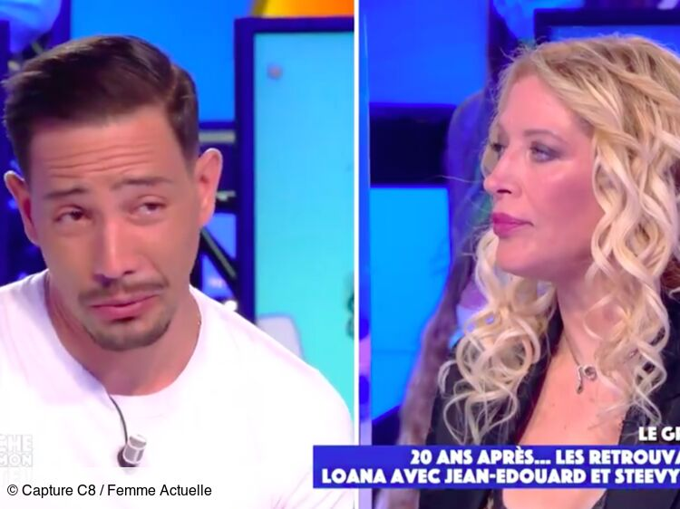 VIDEO - Steevy Boulay fond en larmes face à Loana