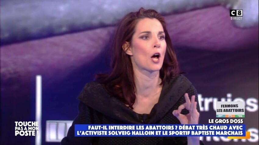 """Qui est Solveig Halloin, la militante activiste qui a fait le buzz dans """"Touche pas à mon poste"""" ?"""