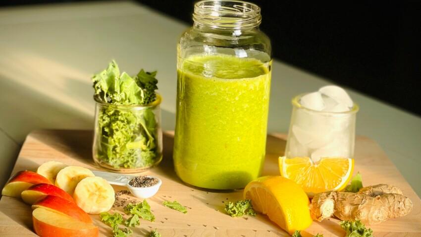 4 recettes de smoothies détox qui aident à éliminer