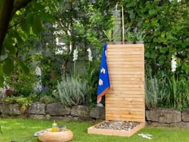 Tutoriel malin pour fabriquer une douche de jardin