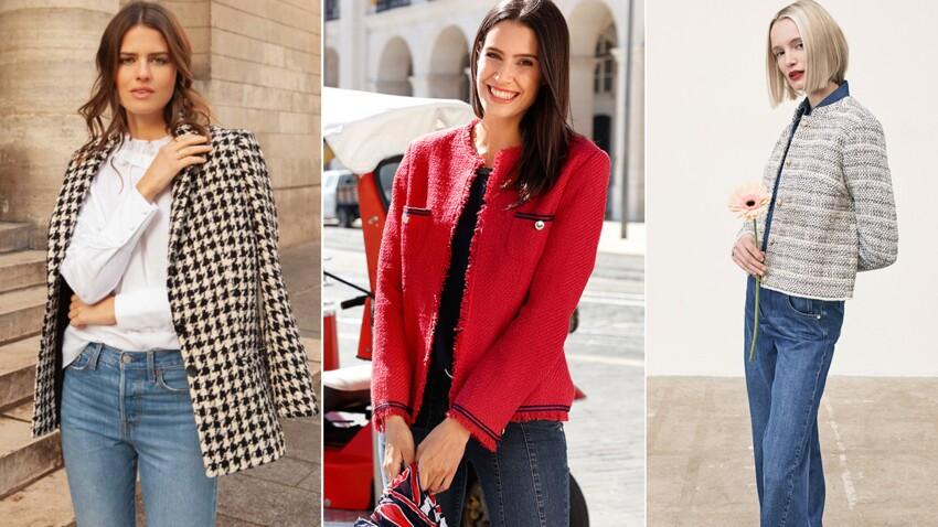 Mode + 50 ans : comment porter la veste en tweed sans faire mémère ?