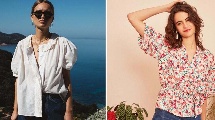 Blouses et chemises printemps-été 2021 : les nouveautés les plus canons à adopter