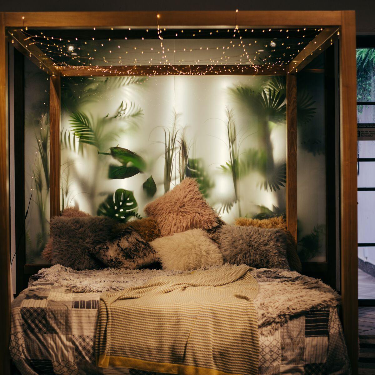 Nos idées déco pour une chambre esprit tropiques  Femme Actuelle ...