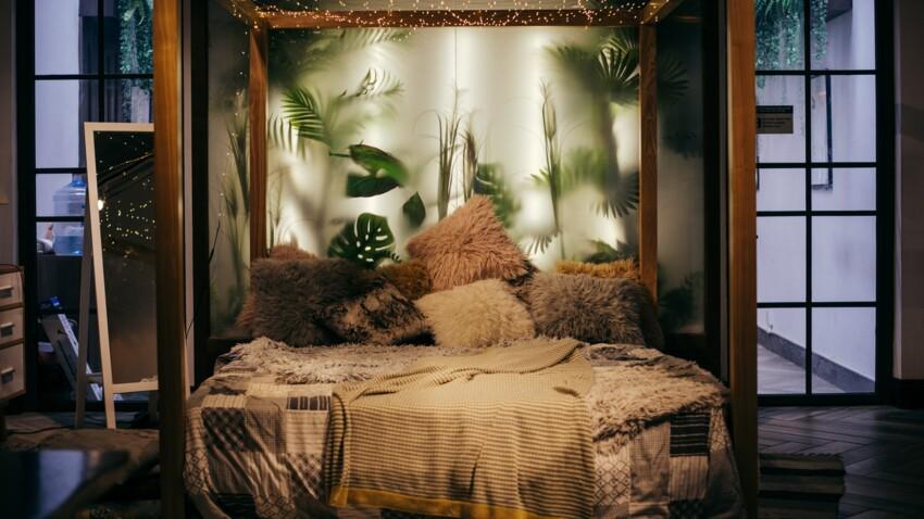 Nos idées déco pour une chambre esprit tropiques
