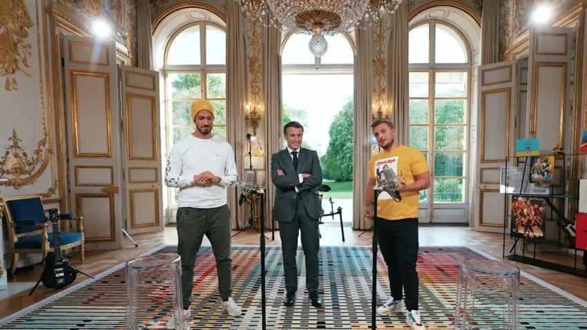 Emmanuel Macron relève le défi de McFly et Carlito : la vidéo diffusée