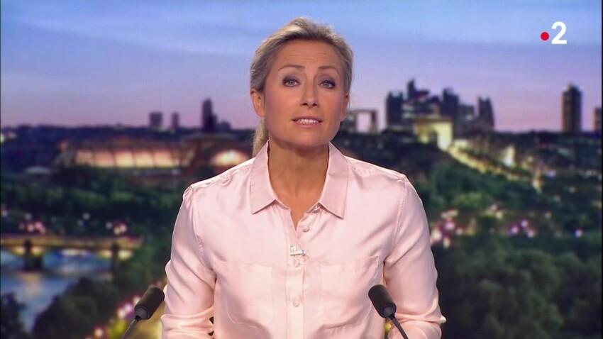 VIDEO - Anne-Sophie Lapix déstabilisée par cet incident pendant le JT de 20h