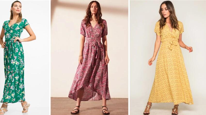 Robes longues 2021 : 15 modèles parfaits pour affiner sa silhouette cet été