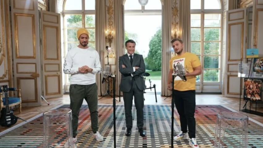 """""""Pas totalement libres"""" : ces restrictions imposées à McFly et Carlito pour leur interview d'Emmanuel Macron"""
