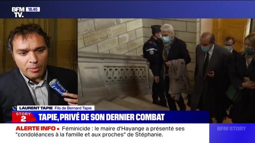 Bernard Tapie : son fils Laurent donne des nouvelles inquiétantes et pousse un coup de gueule - VIDEO