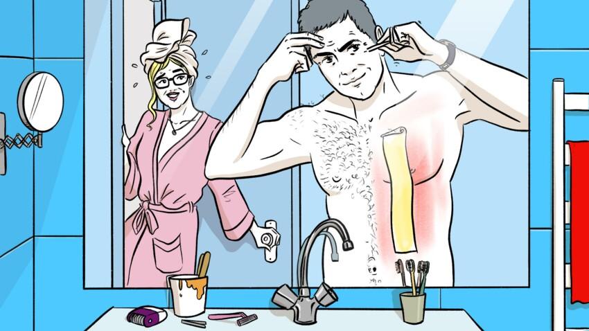Sexo + 50 ans : au secours, mon chéri a décidé de… s'épiler !