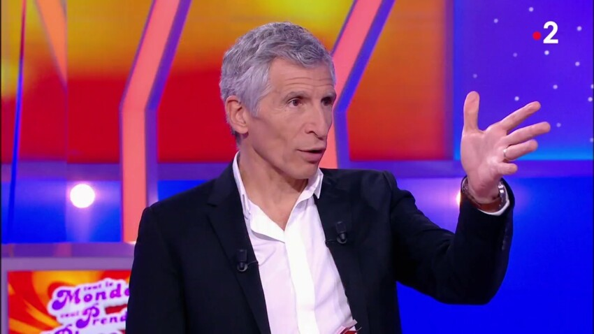 VIDEO - Nagui adresse un tacle à peine voilé à Pierre-Jean Chalençon