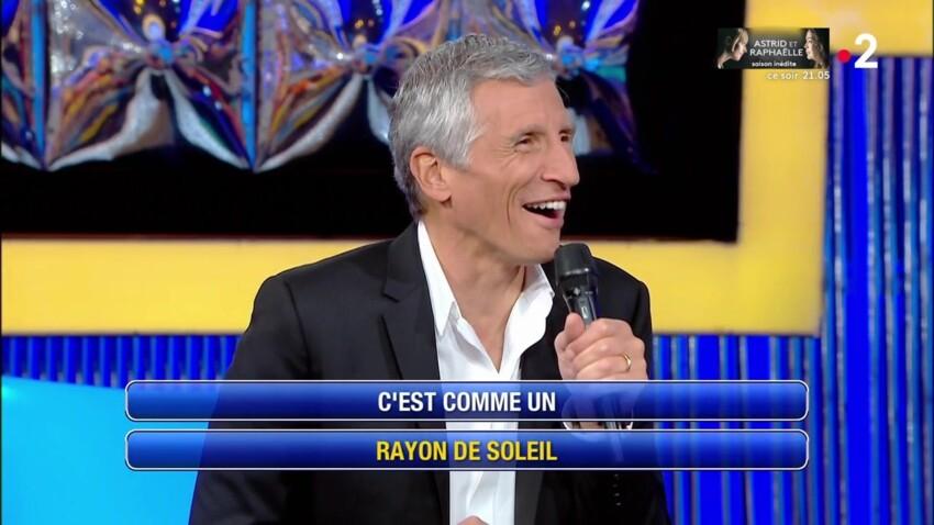 """""""N'oubliez pas les paroles"""" : Nagui hilare devant un clash entre une candidate et Cruella"""