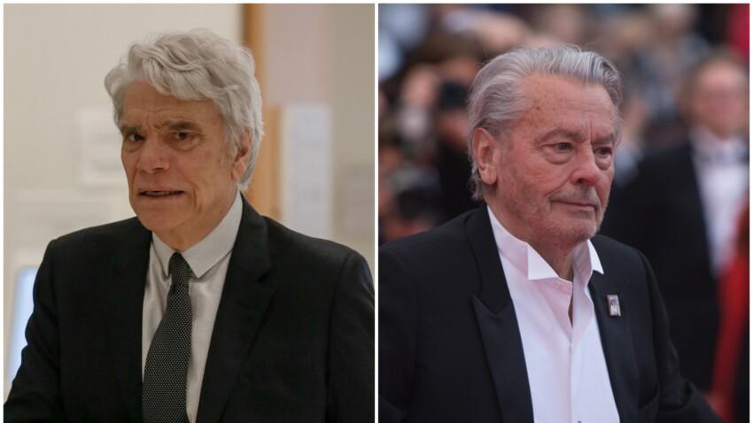 Bernard Tapie hospitalisé : Alain Delon s'exprime pour le soutenir