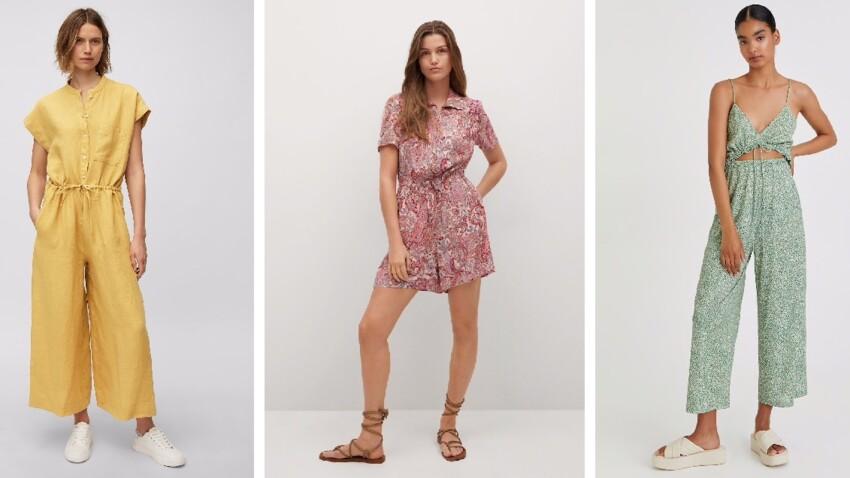 Combishort et combi-pantalon  : nos modèles préférés de l'été 2021