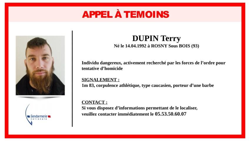 """Chasse à l'homme en Dordogne : qui est Terry Dupin, le forcené """"neutralisé"""" par le GIGN ?"""