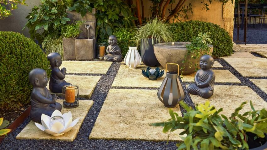 Jardin : une décoration zen pour un extérieur apaisant