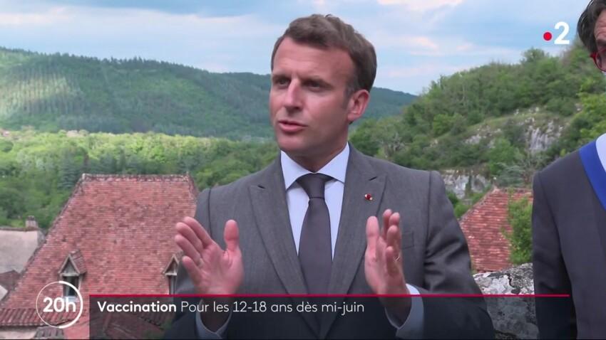 Vaccination des 12-18 ans : Emmanuel Macron annonce enfin une date, tous les détails à connaître