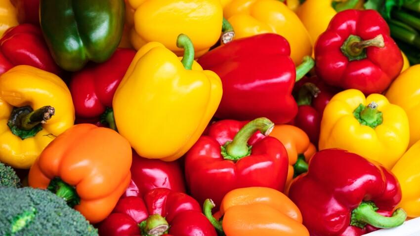 Quelles sont les différences entre un poivron rouge, vert et jaune ?