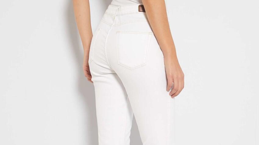 5 questions à se poser avant d'acheter un jean blanc