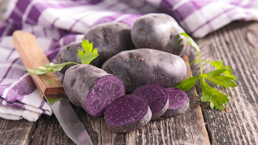Vitelotte : nos délicieuses recettes colorées à base de pommes de terre violettes