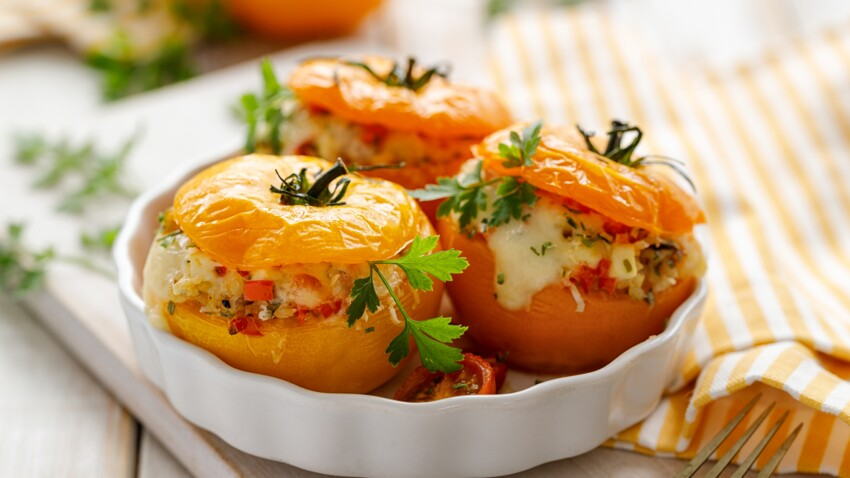 La recette originale des tomates farcies de Cyril Lignac