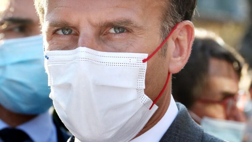 Masques en extérieur : Emmanuel Macron évoque enfin une date sur la fin de l'obligation