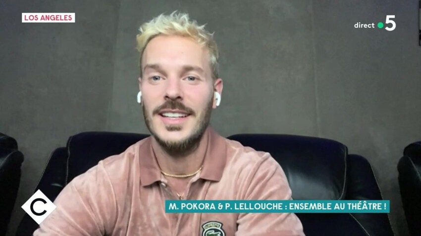 M. Pokora, taquin, se moque du look vintage de Philippe Lellouche devant lui !