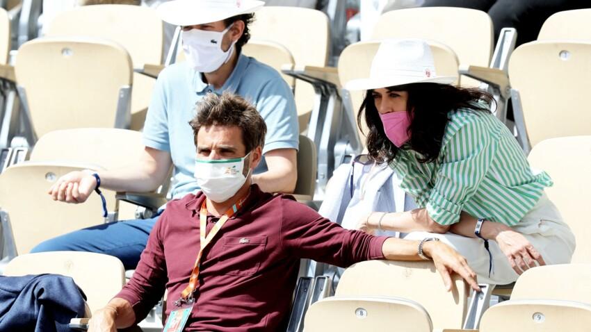 PHOTOS - Nolwenn Leroy et son amoureux Arnaud Clément : le couple s'affiche à Roland-Garros