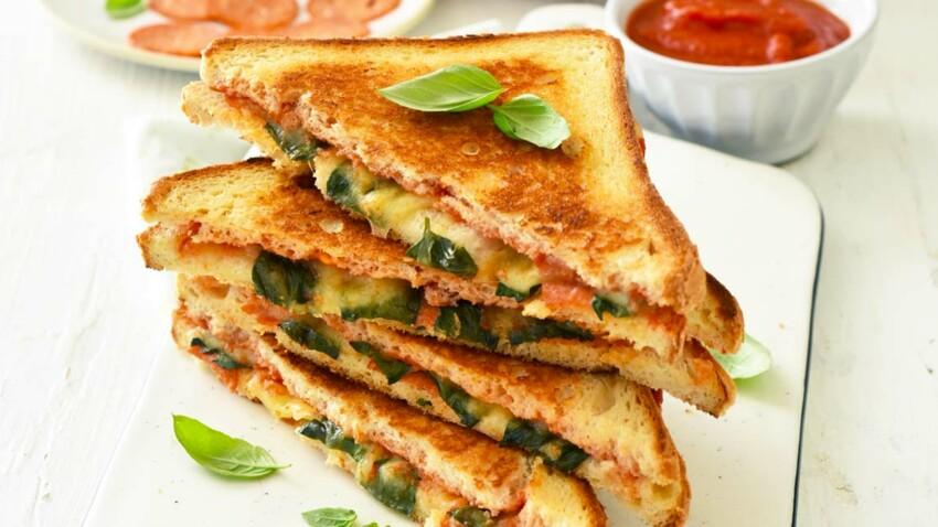 Sandwich pizza grilled cheese sans gluten