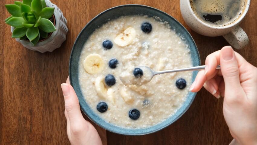 Porridge super-crémeux aux flocons d'avoine