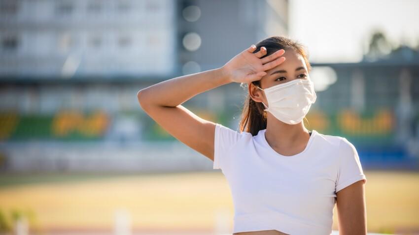 Masque et chaleur : 10 conseils pour mieux le supporter malgré les températures élevées