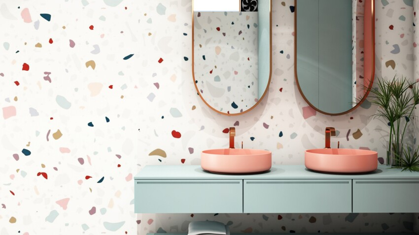 Salle de bain : comment adopter la tendance terrazzo ?