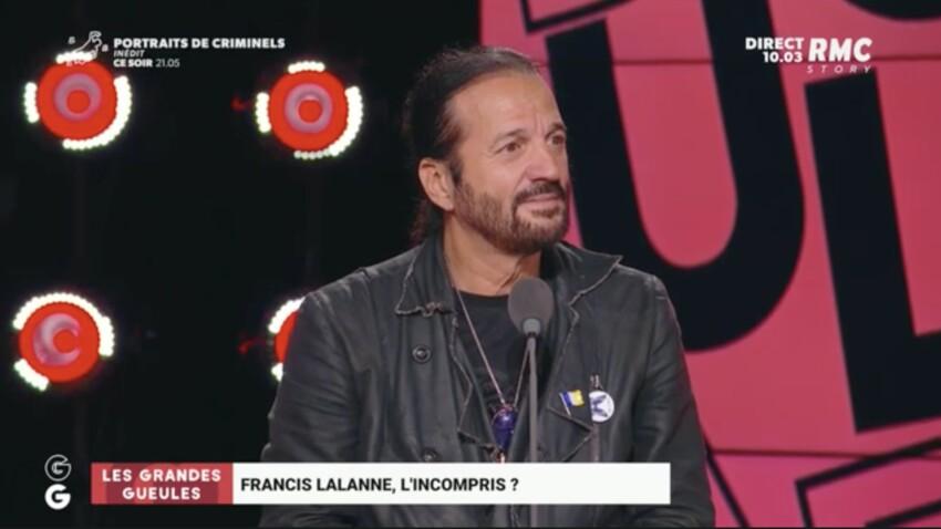"""Francis Lalanne minimise la gifle d'Emmanuel Macron : """"une caresse un peu appuyée"""""""