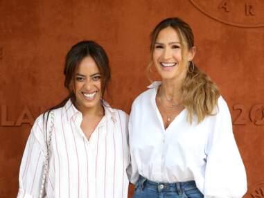 PHOTOS - Amel Bent et Vitaa complices à Roland-Garros
