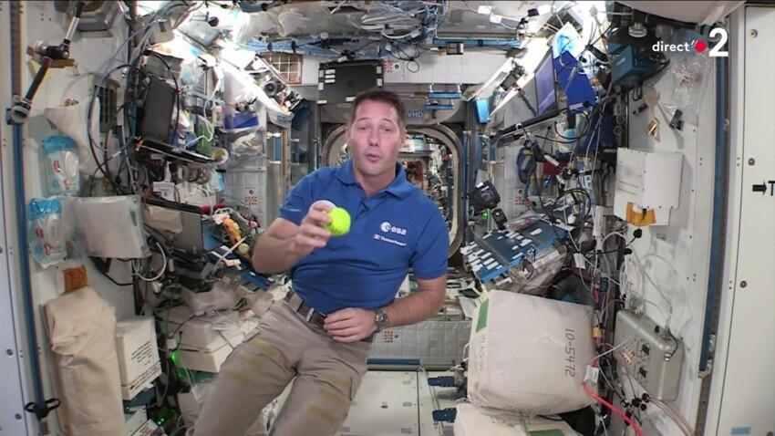 Thomas Pesquet : l'apparition surprise de l'astronaute durant la finale de Roland-Garros