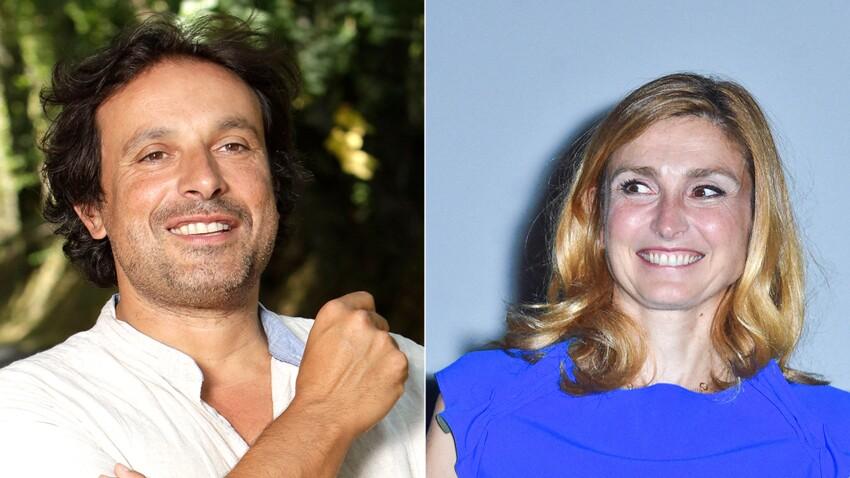 Julie Gayet et Bruno Salomone : le comédien gêné de parler de leur histoire d'amour