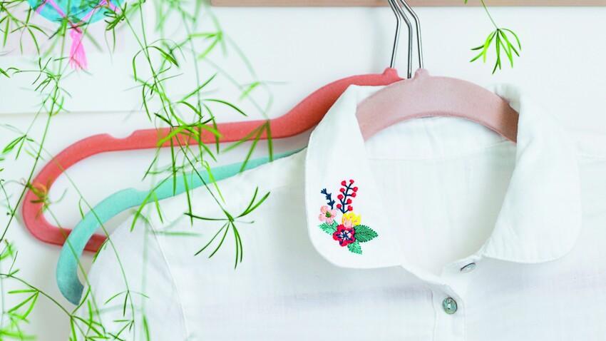 Tuto broderie : comment broder des fleurs sur un t-shirt ou un chemisier ?