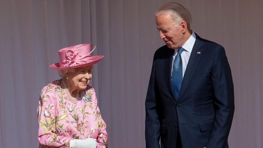 Joe Biden multiplie les entorses au protocole royal avec Elizabeth II