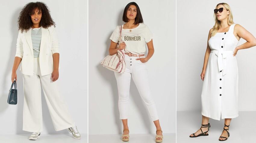 Mode pour les rondes : bien porter le total look blanc après 50 ans