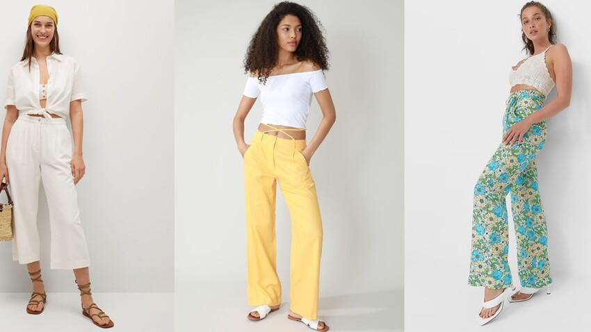 Mode été 2021 : les plus beaux pantalons à moins de 30 euros