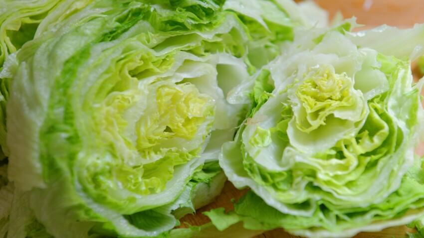 Faut-il laver la salade iceberg ?